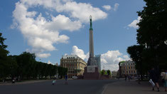 Riga, Freheitsdenkmal