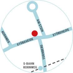 Lageplan vom Salon Peggy Meinecke in Klein Borstel