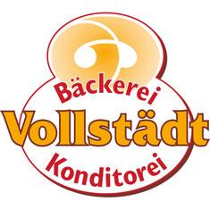 Farbiges Logo der Bäckerei Vollstädt in Klein Borstel