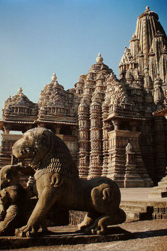Kandariya Mahadeo - Tempel, Foto Arnold Betten