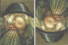 Arcimboldo - Homme potager - 1590