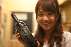 ガラスアート体験教室 鶴岡 ワイン お酒ボトル彫刻