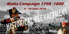 Campagne de Malte du 5 au 10 juin 2018