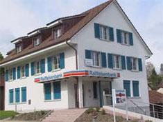 Raiffeisenbank Wegenstetten (Fensterladen-Alu und Verbundraffstoren)