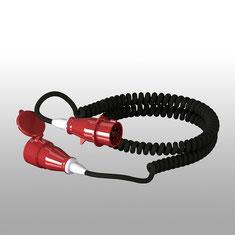 Spiralkabel: Anschlusskabel für die sichere Energieversorgung des Finken Vakuumhebers