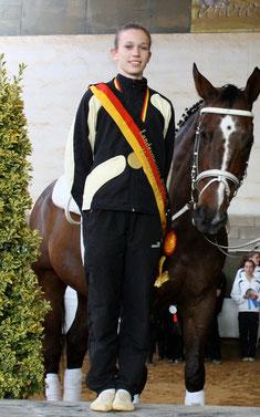 Sophie Hofmann, Landesmeisterin 2011
