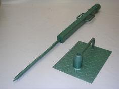 martillo con guia para densimetro