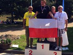 Podest O50 Tschechien Open Prag 2014