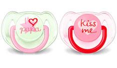 Philips Avent Nuggi Trend, rosa, 6-18 Monate