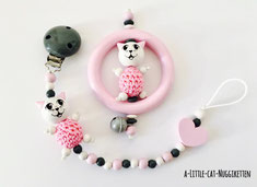 """Geschenkset """"Katze rosa"""""""