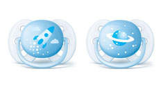 Philips Avent Nuggis Ultra Soft, blau, 0-6 Monate