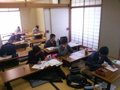 アクロス和室での授業