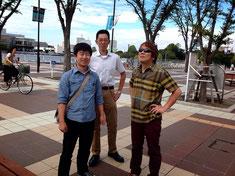 横浜校の前田塾超が、応援に駆けつけてくれました!