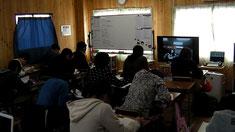 西茨城教室での授業
