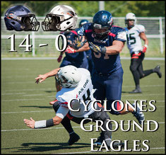Cyclones (14) - (0) Black Eagles