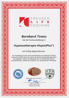 HypnoPlus Zertifikat