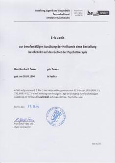 Heilerlaubnis Gesundheitsamt Berlin