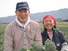 たけちゃん農園の笑顔が素敵な小川さんご夫妻