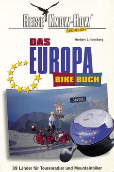 Das Europa-Bikebuch: die 1. Auflage