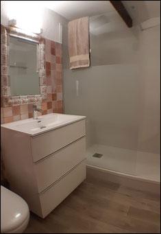 Salle de bain de la location vacances