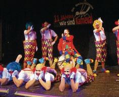 Seit elf Jahren ein Garant für gute Stimmung - die Brüllmücken waren in diesem Jahr Clowns in der Manege. Eine lustige Nummer! Fotos: Kroll