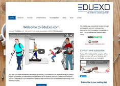 The EduExo website