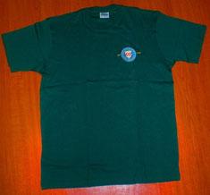 AGS T-Shirt mit aufgesticktem Vereinslogo 15€
