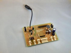 assembled PCB from DIY kit