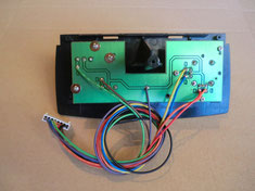 joystick unit with soldered cable (kit version)