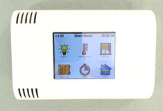 ESP32 ESP8266 Nodemcu touch ILI9341 homeautomation