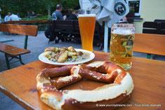 Biergarten de Munich