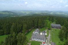 Luftaufnahme - Bogensportzentrum