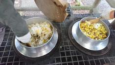 そして、芋ご飯