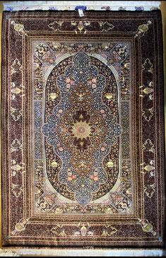 QUM silk  MOHAMMAD JAMSHIDI工房 ドザールサイズ