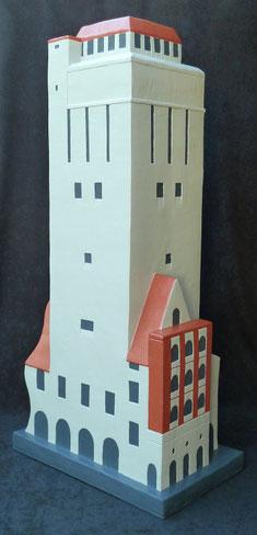 Wasserturm von Delmenhorst 160cm Skulptur-Kunstwerk von künstlerstein.de Mathias Rüffert