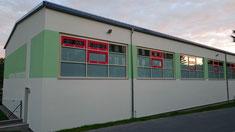 Die neue Turnhalle für den Schulsport konnte zum Start des Schuljahres 2015/16 mit einem Tag der offenen Tür eingeweiht werden.