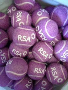 Bunte Tennisbälle, Tennisbälle mit Logo, farbige Tennisbälle, Tennisbälle mit Logo, Tennisbälle bedrucken