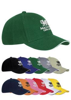 Cap bedrucken, Cap bedrucken, Cap mit Logo, Cap Werbemittel, Golfwerbemittel, Golfcaps