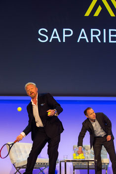 Auch prominente Sportler wie Boris Becker lieben die Tennisbälle von S1 Event