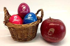 Ostereier bedrucken, Ostereier mit Logo, Logo ostereier, Ei bedrucken, Eier bedrucken, Ostereier bedruckt