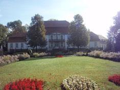Rückseite Schloss Wiepersdorf