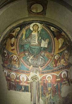 カタルーニャ美術館の荘厳のキリスト