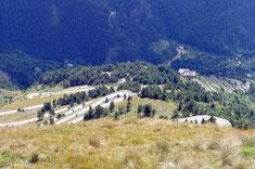 Die 46 Kehren des Col de Tende
