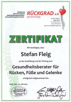 Dorn Methode, Dorn Massagepraktiker, Stefan Fleig, Zurück zur Natur, Die Rückenwerkstatt, Gesundheitsberater für Rücken Füße und Gelenke