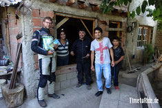 Chile - Argentinien - Südamerika - Motorrad - Honda Transalp - Welt-Reise - Gastfreundschaft nach Reifenpanne