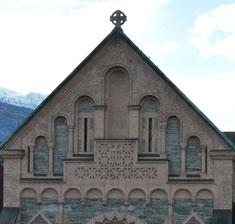 Leere Nische seit dem Kirchenbau