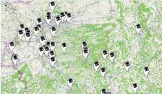 Dead Drops in der Mitte Deutschlands
