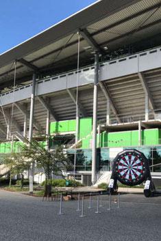 Fußballdart VFL Wolfsburg