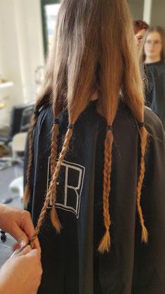 Haarspenden bei Betty Göbel in Hemmingen