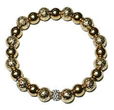 BEHERO Herren - Armband Phantom Gold
